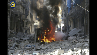 The Latest: Medical group head tells UN of Aleppo horrors