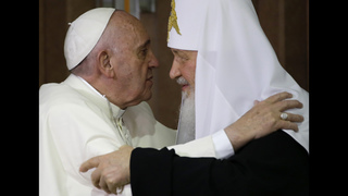 Russia, Syria geopolitics frame pope