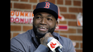 The view at Fenway Park from David Ortiz