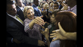 The Latest: Clinton raises $154 million in September