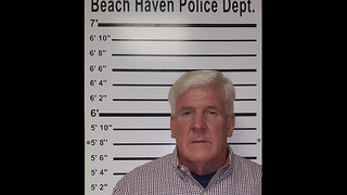 Man charged with wearing clear plastic wrap bikini on beach