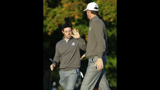 Spanish rally brings Europe closer in Ryder Cup