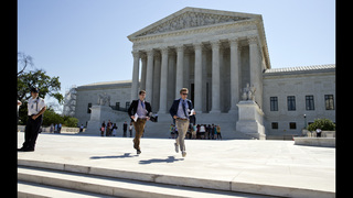 Supreme Court in holding pattern, awaiting ninth justice