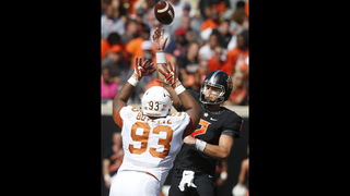 Rudolph has 3 TD passes, Oklahoma St tops No. 22 Texas 49-31