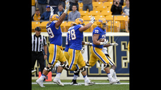 Pitt scores twice late, edges Georgia Tech 37-34