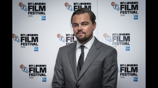 DiCaprio says he