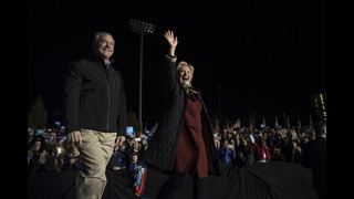 Clinton turns focus to down-ballot candidates in final days