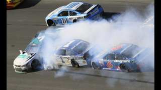 Logano wins Talladega to advance in NASCAR