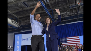 Obama campaigns in Nevada, visits California