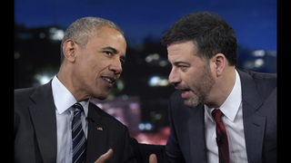 Obama reads mean tweets as part of Jimmy Kimmel show
