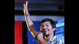 Manny Pacquiao takes a break from politics for boxing