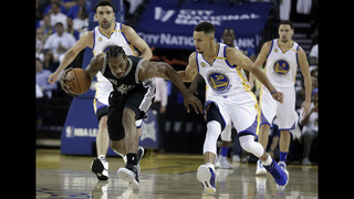 Leonard, Spurs spoil Durant
