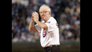 View from bench: Former Supreme Court justice roots for Cubs