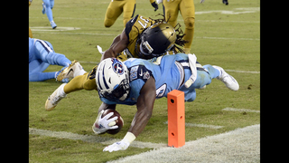 Titans end home woes, roll to 36-22 victory over Jaguars