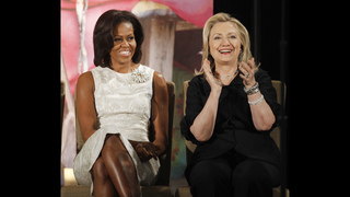 First Lady says support for