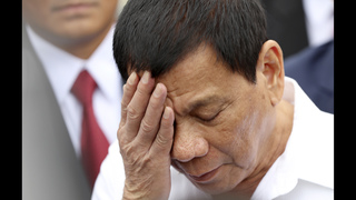 Philippine leader Duterte says God told him to stop cursing