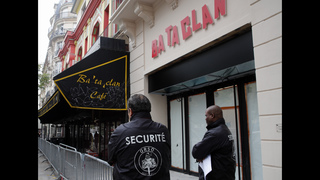 Paris concert hall unveils new facade 1 year after attacks