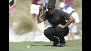 Tiger Woods returns with mixed bag and a 73