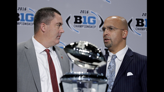 Wisconsin, Penn St. try to focus on title game _ not playoff
