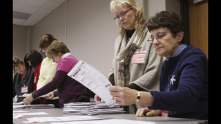 Trump backers ask courts to halt or prevent 3 state recounts