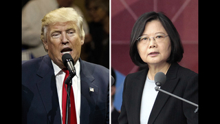 Trump shrugs off fuss over Taiwan call
