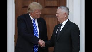 A Cabinet of generals? Trump
