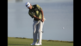 Dustin Johnson, Hideki Matsuyama tied for lead in Bahamas