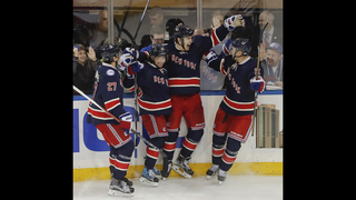 Kreider scores 2 in 3rd to lift Rangers past Hurricanes 4-2