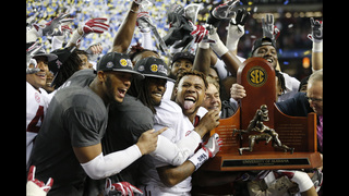 Alabama positioned to become 3rd wire-to-wire AP No. 1