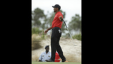 Birdies and blunders, but a healthy week for Tiger Woods