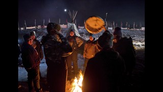 North Dakota pipeline protesters vow to stay despite victory