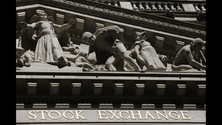 Phone and bank stocks push indexes higher; Dow at record