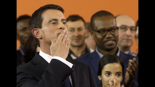 French premier steps down to focus on presidential election