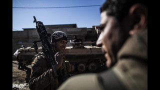 Iraqi special forces capture new land in eastern Mosul