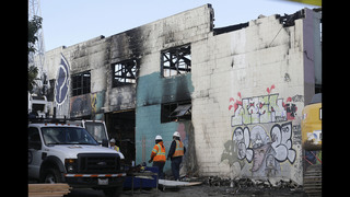Raging Oakland warehouse fire trapped victims in smoke