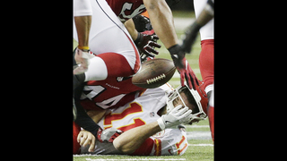 A rookie disappointment, Beasley makes huge leap for Falcons