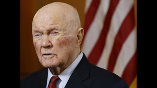 John Glenn, astronaut and US Senator, dies at 95