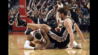 Spurs fall to Bulls 95-91 after winning first 13 road games