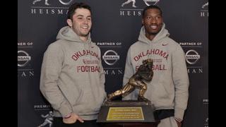 Heisman Trophy: Sooner teammates are rare pair of finalists