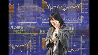 Asian shares mostly higher following ECB-inspired rally
