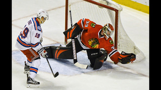 Raanta, Rangers beat Blackhawks 1-0 in overtime