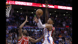 Rockets overcome Westbrook