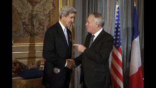 John Kerry awarded French Legion of Honor for peace-making