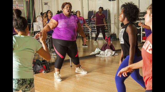 Zumba instructor stays upbeat despite Matthew | WSOC-TV