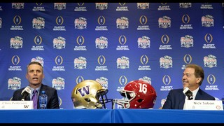 Peach Bowl: Alabama dynasty vs. playoff outsider Washington