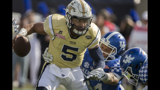 Georgia Tech tops Kentucky 33-18 in TaxSlayer