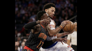 Schroder hits go-ahead 3, scores 28 as Hawks edge Knicks