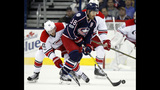 Dubinsky scores twice and Blue Jackets beat Canes 4-1