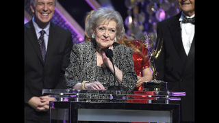 Fans celebrate Betty White on actress