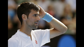 The Latest: Djokovic-Istomin going to 5 sets in 2nd round